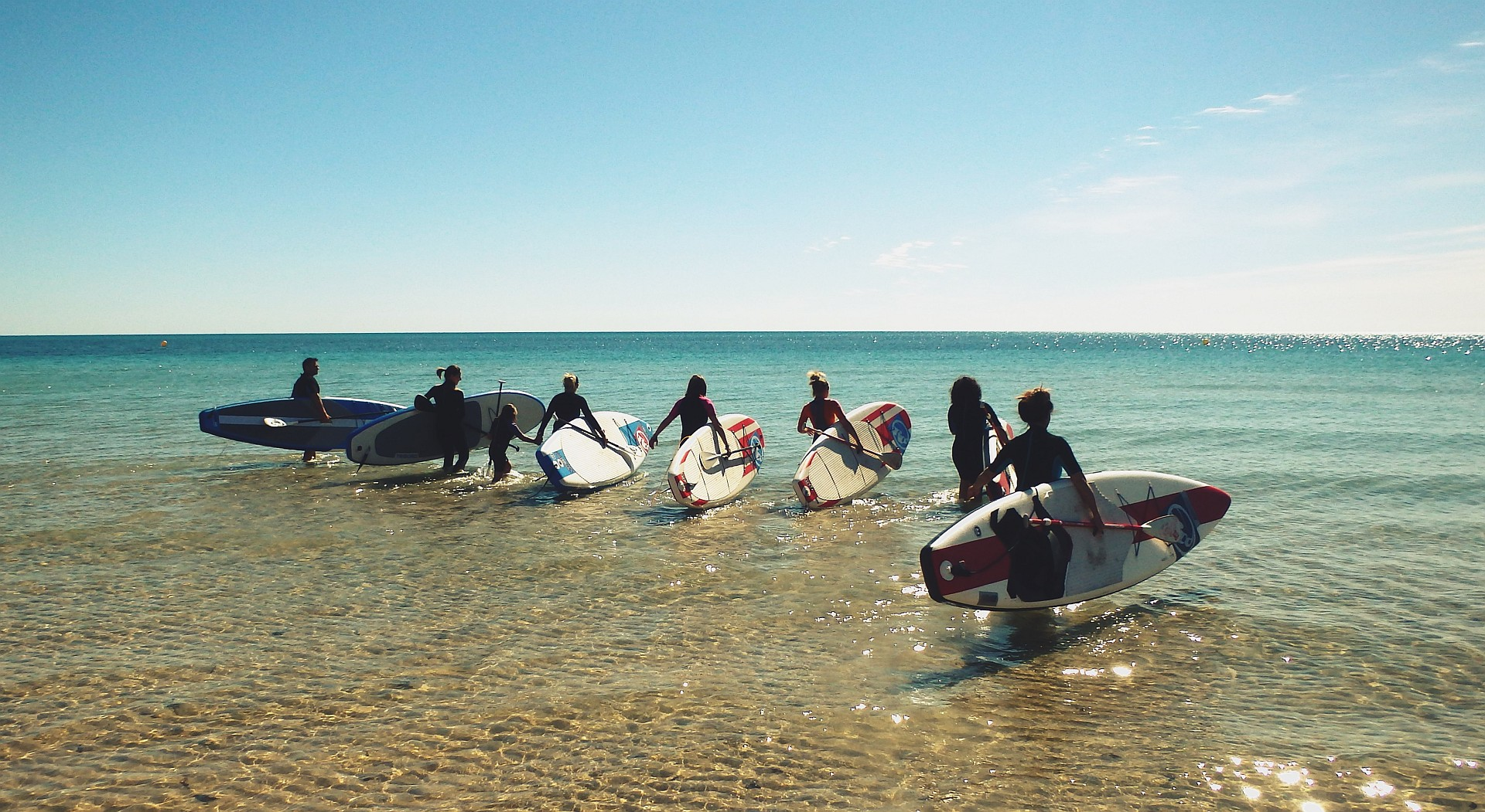 Stand up paddling Cabo Roig Torrevieja